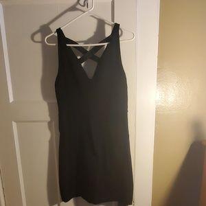 Express Black Sleeveless dress